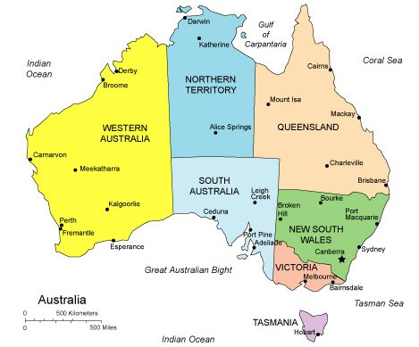 Map Of Australia For Students.Study In Australia Miracle Career Consult
